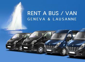 Location de minibus lausanne